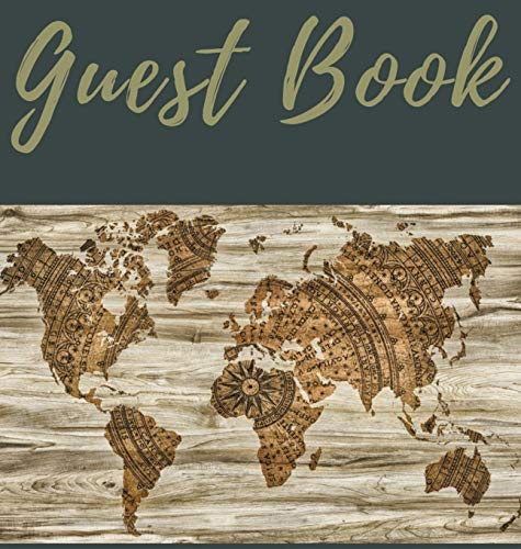 Guest Book (Hardcover): Guest book, air bnb book, visitors book, holiday home, comments book, holiday cottage, rental, vacation guest book, Guest Comment Book, Visitor Comments Book