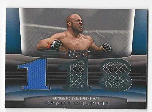 2011 Topps UFC 118 Title Shot Fight Mat Relics Randy Couture #FMRC NM Near Mint MEM
