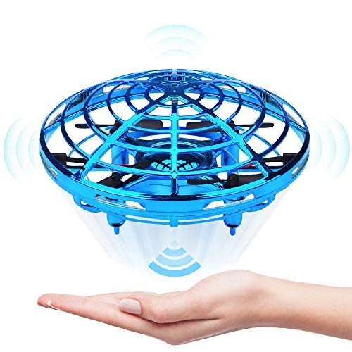 Jasonwell Hand Operated Drone for Kids Toddlers Adults - Hands Free Mini Drones for Kids Flying Toys Gifts for Boys and Girls Hand Drone 6 7 8 9 10 Years Old Kids Self Flying Drone (Popular 2019 Most Christmas Gifts)