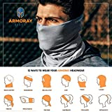 ARMORAY Face Mask Balaclava Neck Gaiter Reusable