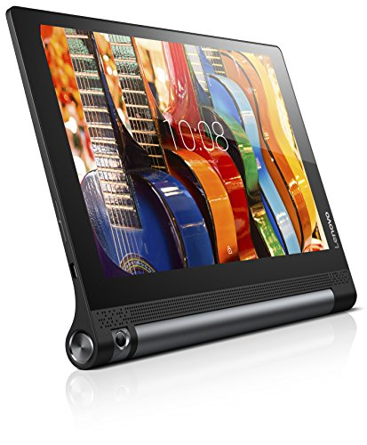 Lenovo Yoga Tab 3-10 25,65cm (10,1 Zoll HD) Convertible Media Tablet (Qualcomm APQ8009 Quad-Core, 1,3GHz, 2GB RAM, 32GB eMMC, Kamera (drehbar): 8MP, Touchscreen, Dolby Atmos, Android 5.1) schwarz