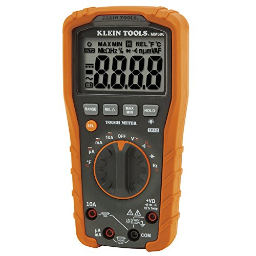 Klein Tools MM600 Auto-Ranging 1000V Digital Multimeter from Klein Tools