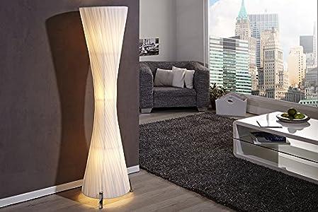 Moderne Lampen 51 : Invicta interior helix l moderne design stehlampe weiss cm