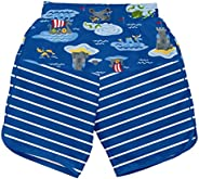 I-Play. Baby Boys' Board Shorts with Built-in Reusable Absorbent Swim Di