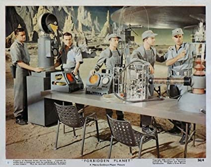 "Forbidden Planet Robby the Robot Poster Replica 14 x 11/"" Photo Print"