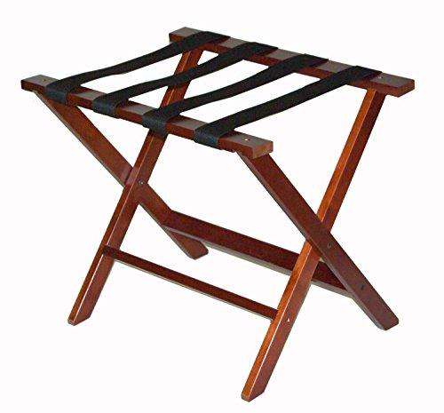 CSL 0LR-100CM-1 Wood Luggage Rack - Cherry Luggage Rack
