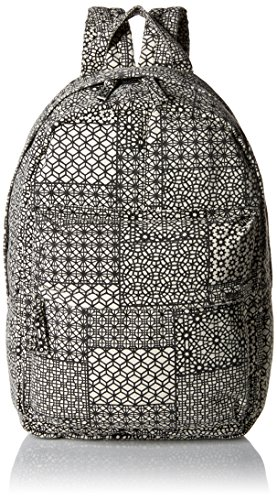 RVCA Women's Scout Ii Backpack, Black/White One Size