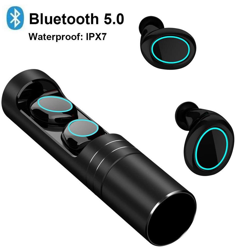 Panzisun Bluetooth Earbuds Wireless Headphones Hi-fi Stereo Sweatproof Earphones Bluetooth Stereo in-Ear Headset Built-in Mic Premium Sound Deep Bass