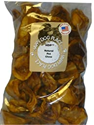 HDP Pig Ears STRIPS Dog chew Made in USA Size:10 LB