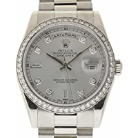 Rolex Day-Date Swiss-Automatic Male Watch 118346 (Certified Pre-Owned)