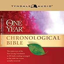 The One Year Chronological Bible NLT Audiobook by  Tyndale House Publishers Narrated by Todd Busteed