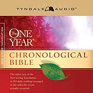 The One Year Chronological Bible NLT Audiobook