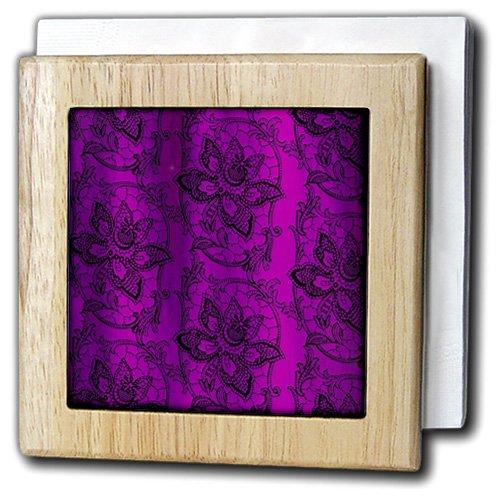 3dRose nh/_11685/_1 A pretty shamrock clover design with little golden butterflies Wall Art Natural