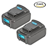 #2: LiBatter 20V MAX 5.0Ah Rechargeable Lithium Ion Battery for DeWalt DCB205-2 DCB205 DCB204 DCB203 DCB201 Dewalt DCD/DCF/DCG/DCS Series DCF787 DCF885 DCD771 DCD777 DCS308B DCS367B DCS387B