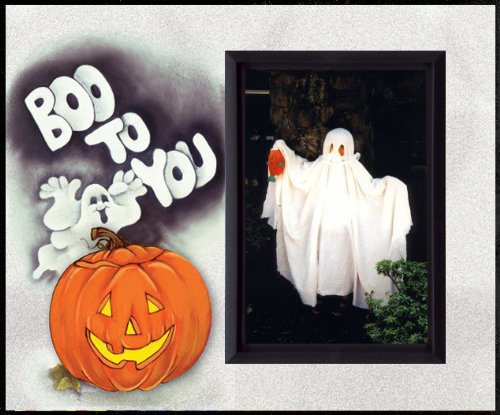 Boo to You Halloween Picture Frame Gift