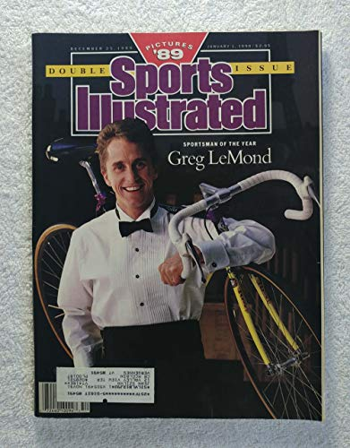 Greg LeMond - Sportsman of the Year - 1989 Tour de France Winner - Pictures '89 - Sports Illustrated - December 25, 1989 - Cycling - SI