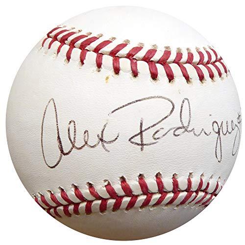 Alex Rodriguez Signed Auto Official AL Baseball Yankees, Mariners #3 1994 Rookie Era Signature - Beckett Certified