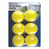 Intech Foam Practice Balls, 6 Pack, Outdoor Stuffs