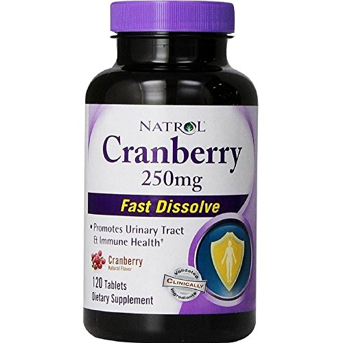 Natrol Cranberry 250Mg Fast Dslv 120 Tab