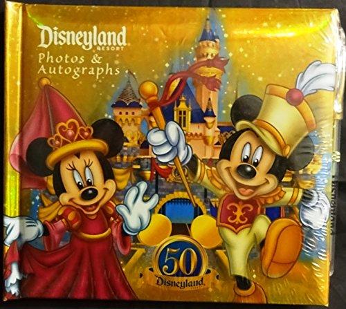 Autograph Disney Albums (Disneyland 50th Autograph Book & Photo Album)