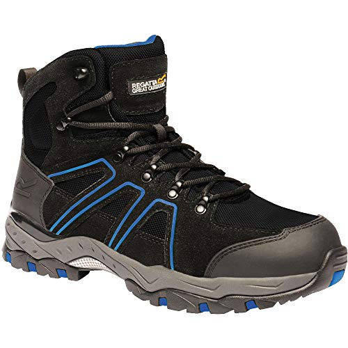 Black Safety Boots Regatta Downburst Pro Hiker Workwear Mens qX0qgT