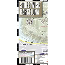 Streetwise Barcelona Map - Laminated City Center Street Map of Barcelona, Spain (Michelin Streetwise Maps)