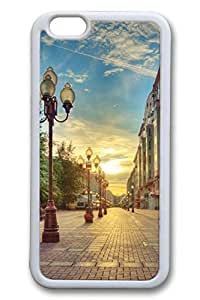 City Sights 11 Slim Soft Cover For Iphone 6 Plus 5.5 Inch Cover Case TPU Black Cases