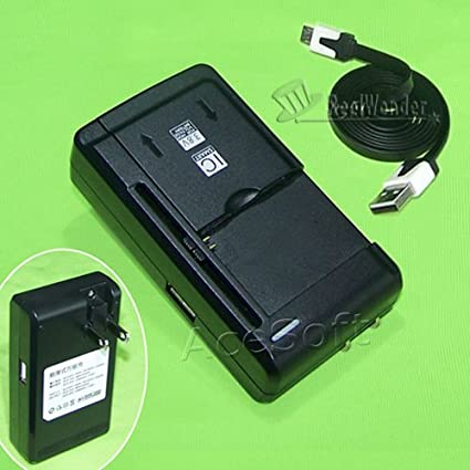 Amazon.com: Universal cargador de batería externo Travel ...