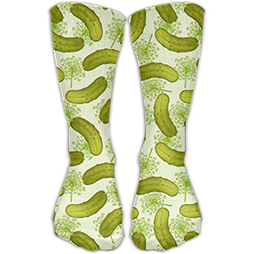 TDGEDSFD Dill Pickles Fashion Warm Winter Socks Cotton Crew Socks One Size For Women And (Pickle Costume Pattern)