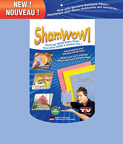 ShamWow Super Absorbent Mini Towels 3 (Shamwow Towels)