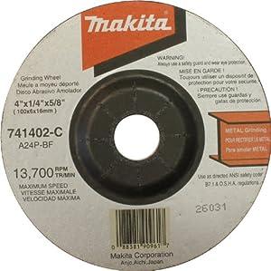 Makita 741402-C-25 4-Inch Grinding Wheel, 25-Pack