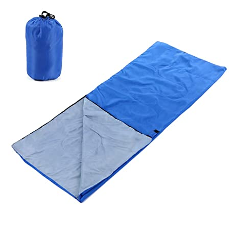 Lixada Saco de Dormir Ultra Ligero Multifuncional 180 * 75cm de Forma de Sobre para Acampada