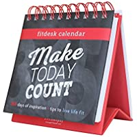 Fitlosophy Fitdesk 365-Day Perpetual Calendar for Daily...