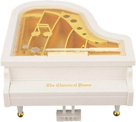 H.Y.BBYH Cajas de música Mini Piano Modelo Caja de música de Metal ...