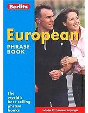 European Phrase Book Berlitz