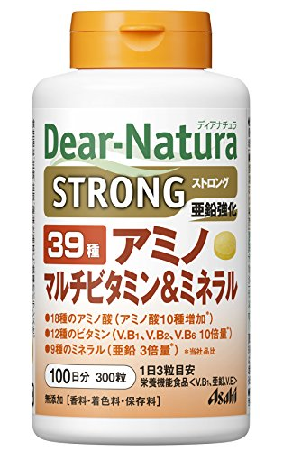Dear-Natura 스트롱 39 아미노 멀티 비타민&미네랄 300알 (100일분)