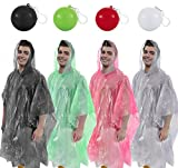 GREAT KIDS GIFT!! Emergency Hooded Ponchos Packed in a Compact Ball Key-chain! - Unsurpassed Quality - Choose From a Variety of Colors You Like - Poncho and Ball are Same Colors!