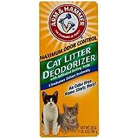 Arm & Hammer Cat Litter Deodorizer, 20 oz (4 Pack) by Arm & Hammer