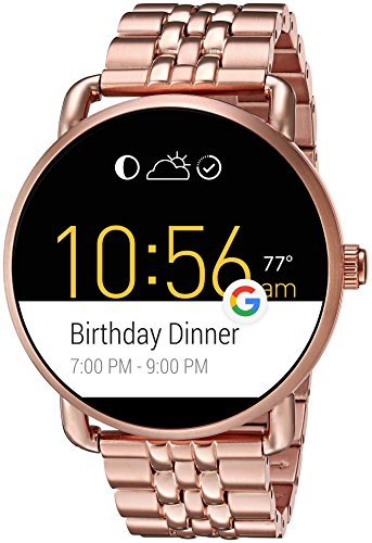 Fossil Q Wander Gen 2 Touchscreen Rose Gold Tone Stainless