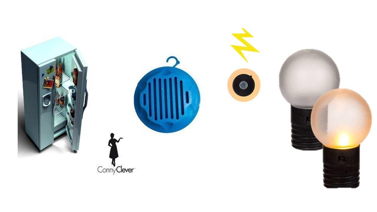 Kühlschrank Deo : Amazon kühlschrankmagnet mit led kühlschrank deo mit zitronenduft