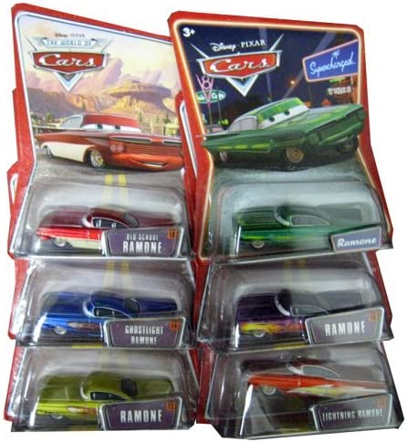 B001AFTPZK Disney Pixar Cars - Ramone Die Cast Car (Full Set of 7) [Toy] [Toy] [Toy] [Toy] 51mLAstvuCL.