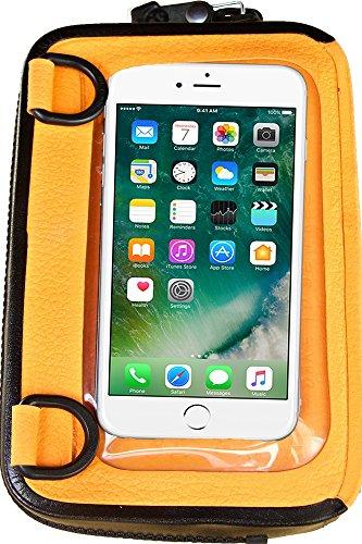 Orange Polyurethane Strap - ugo - Floating Waterproof Dry Bag & Universal Phone Case - Orange