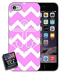 Colorful Pink Chevron Anchor iPhone 6 Hard Case