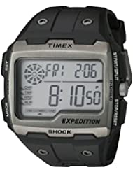 Timex Mens TW4B02500 Expedition Grid Shock Black Resin Strap Watch