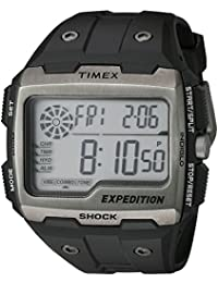 Men's TW4B02500 Expedition Grid Shock Black Resin Strap Watch