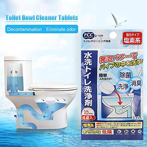 Cleane Tablets, LtrottedJ Disposable Toilet Bowl Cleaner Tablets Fragrant Ball White Bubble Cleaning Tools