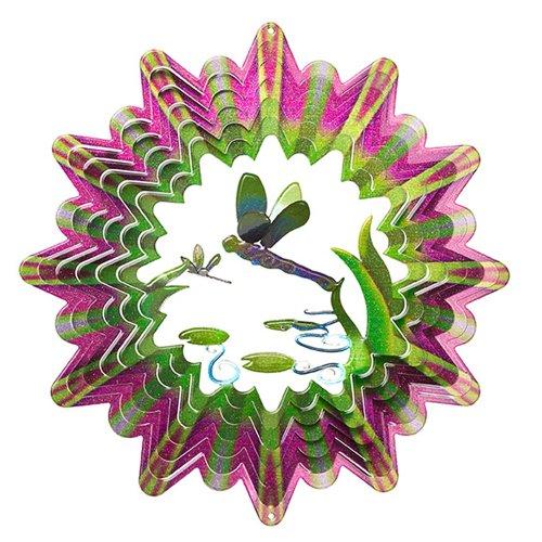 Iron Stop Designer 3D Dragonfly Wind Spinner