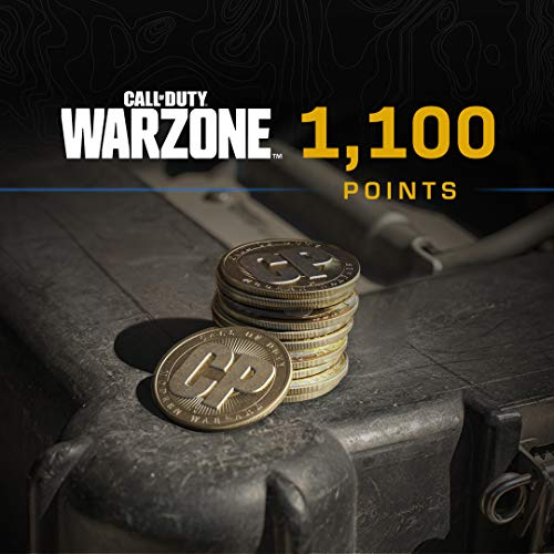 Call of Duty: Warzone -  1,100 COD Points - PS4 & PS5 [Digital Code]