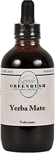 Greenbush Yerba Mate Concentrate 4 oz Liquid Extract Fat Burn Booster