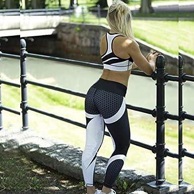 RIOJOY Womens Printed Yoga Pants High Waist Workout Fitness Leggings Sport Gym Yoga Athletic Pants